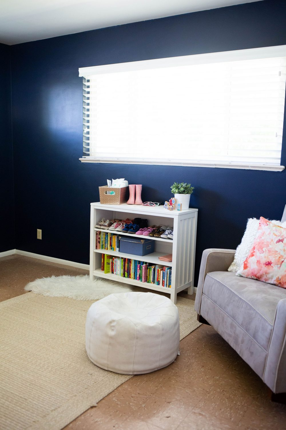 navy blue nursery inspiration
