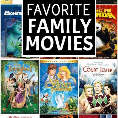 favorite family movies
