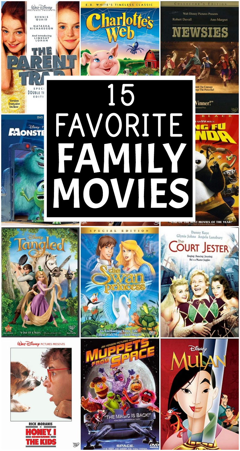 favorite family movies
