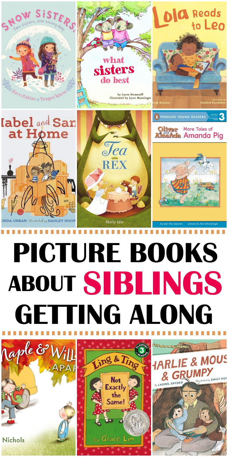 books about siblings