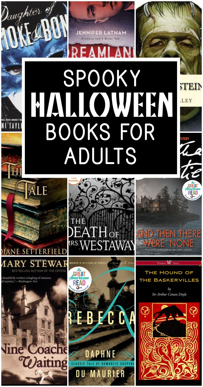 halloween books for adults