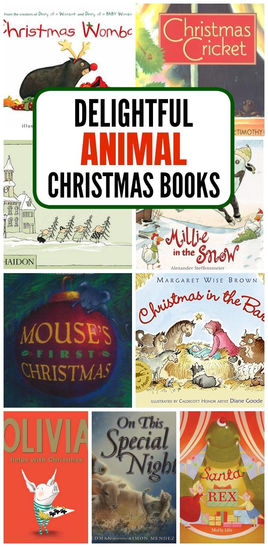 animal christmas books