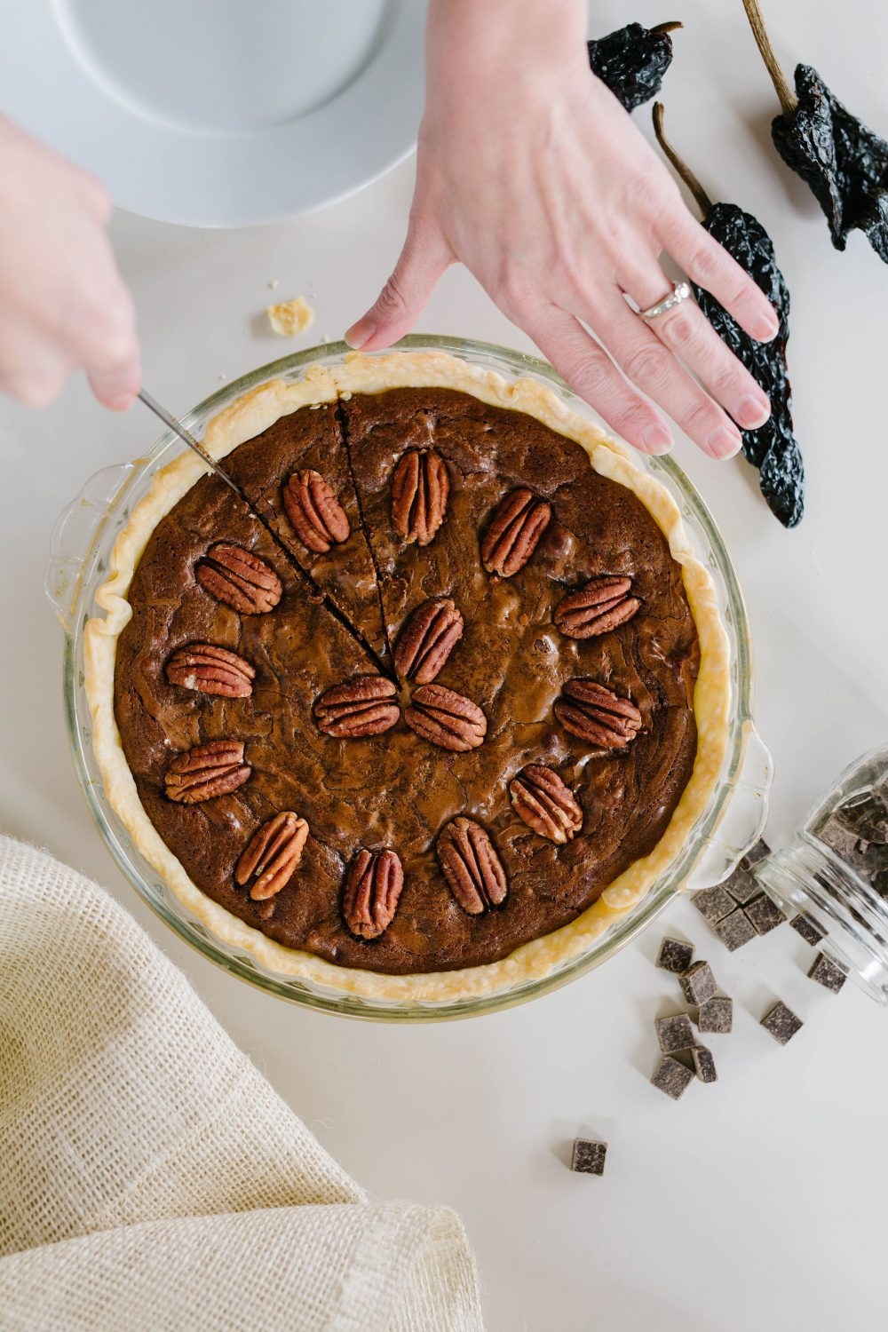 thanksgiving chocolate pie