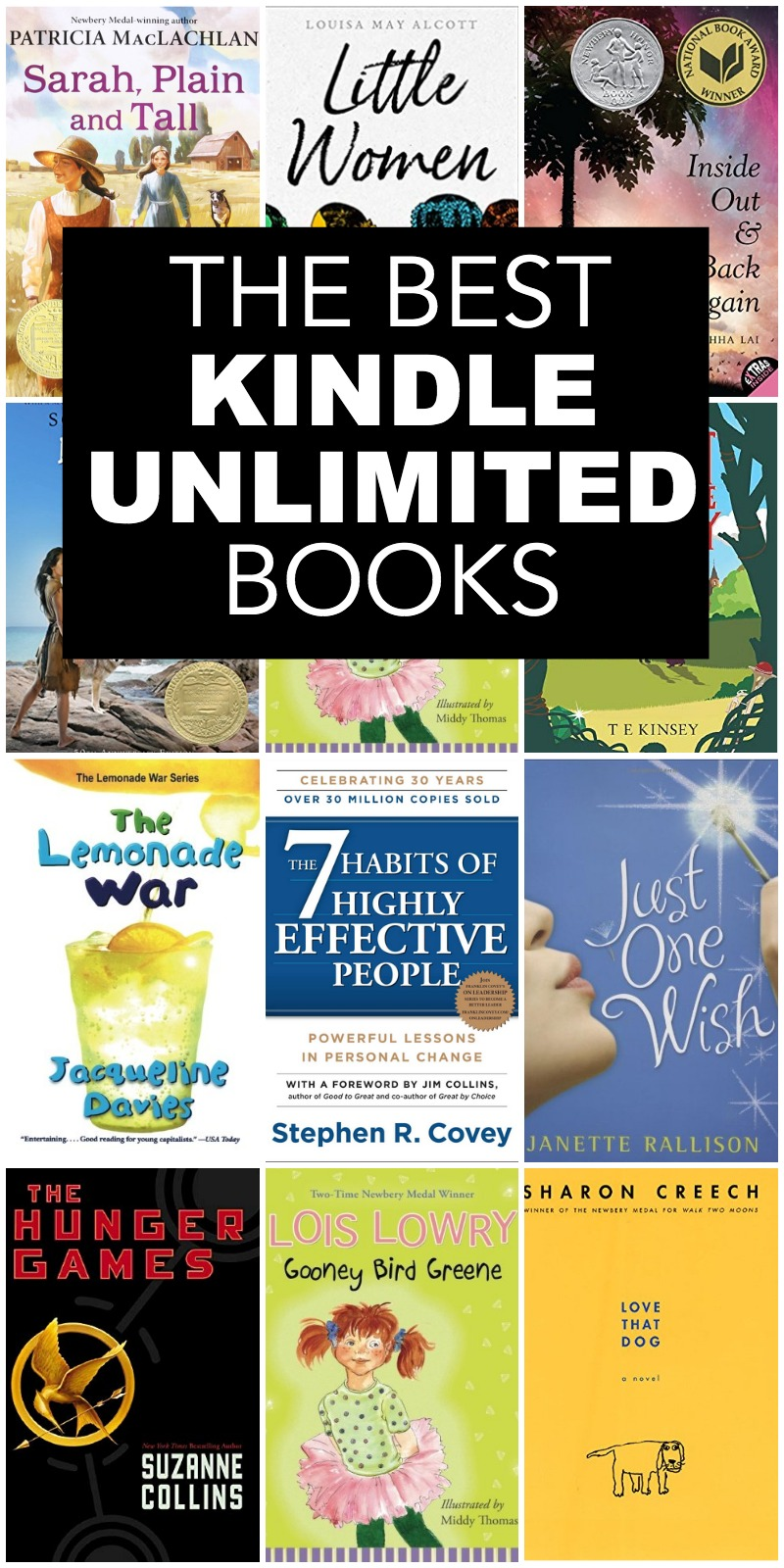 kindle unlimited books