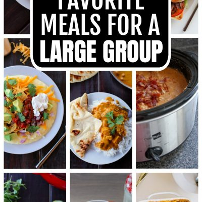 meals for a large group