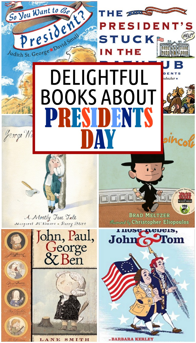 books for presidents day
