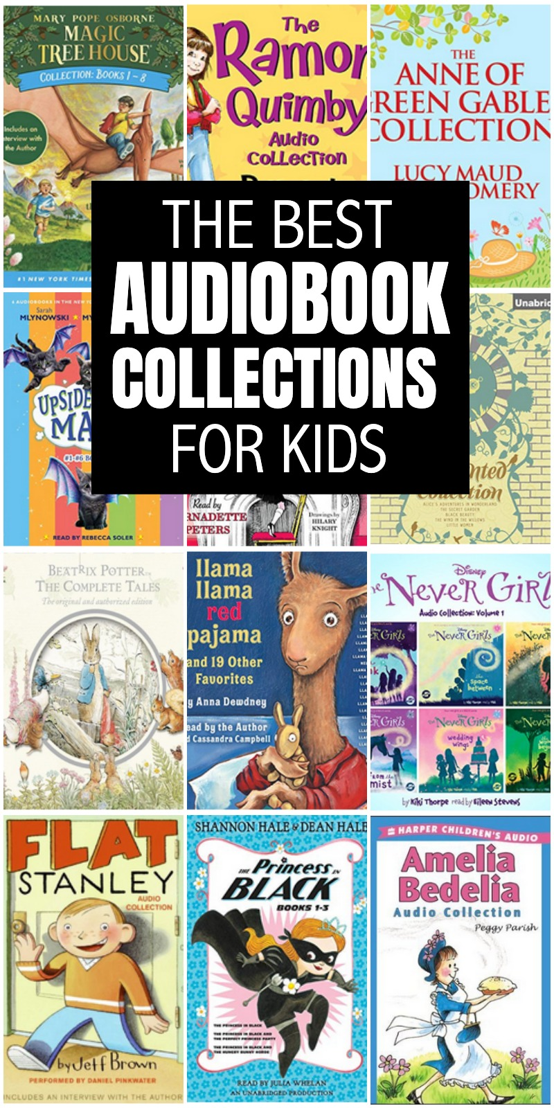 Audiobook Collections for kids