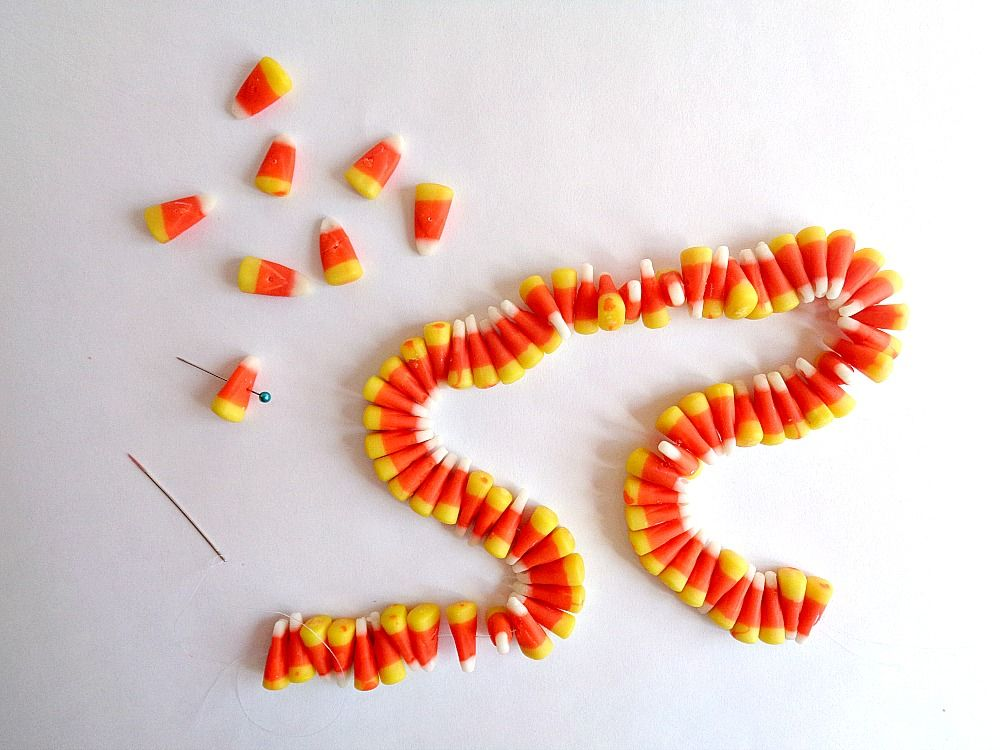 candy corn garland