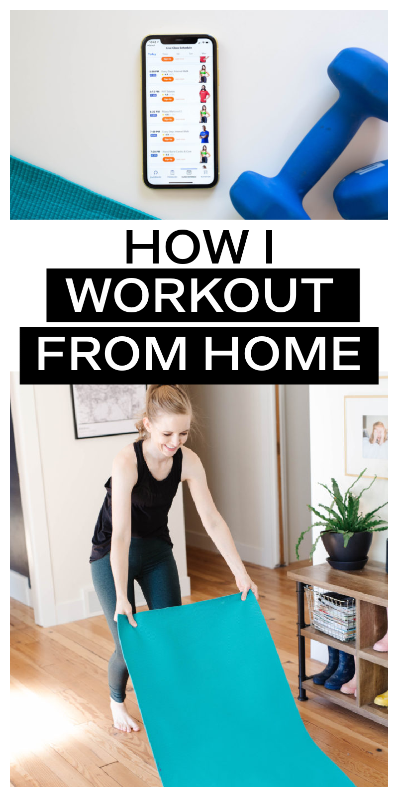 workouts from home