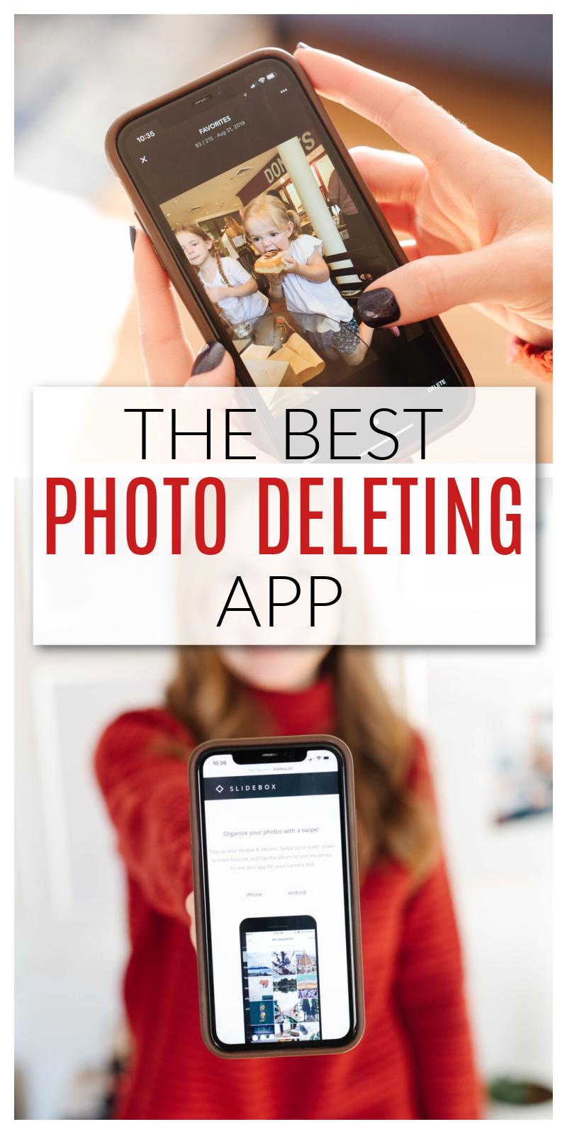 photo deleting app