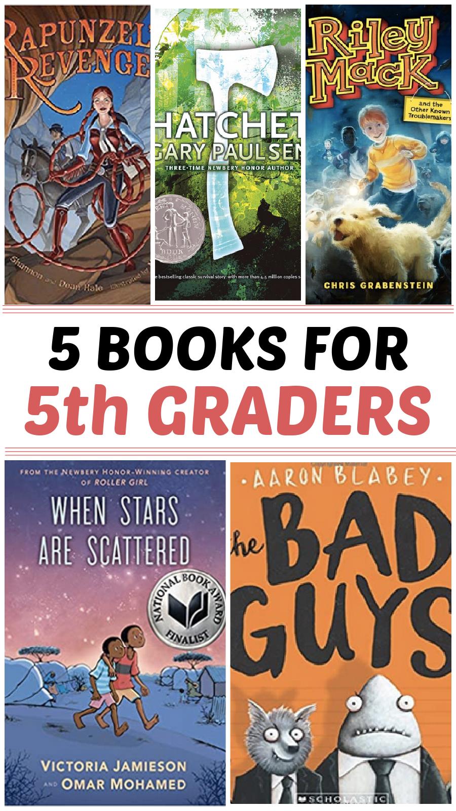 books for 5th grader