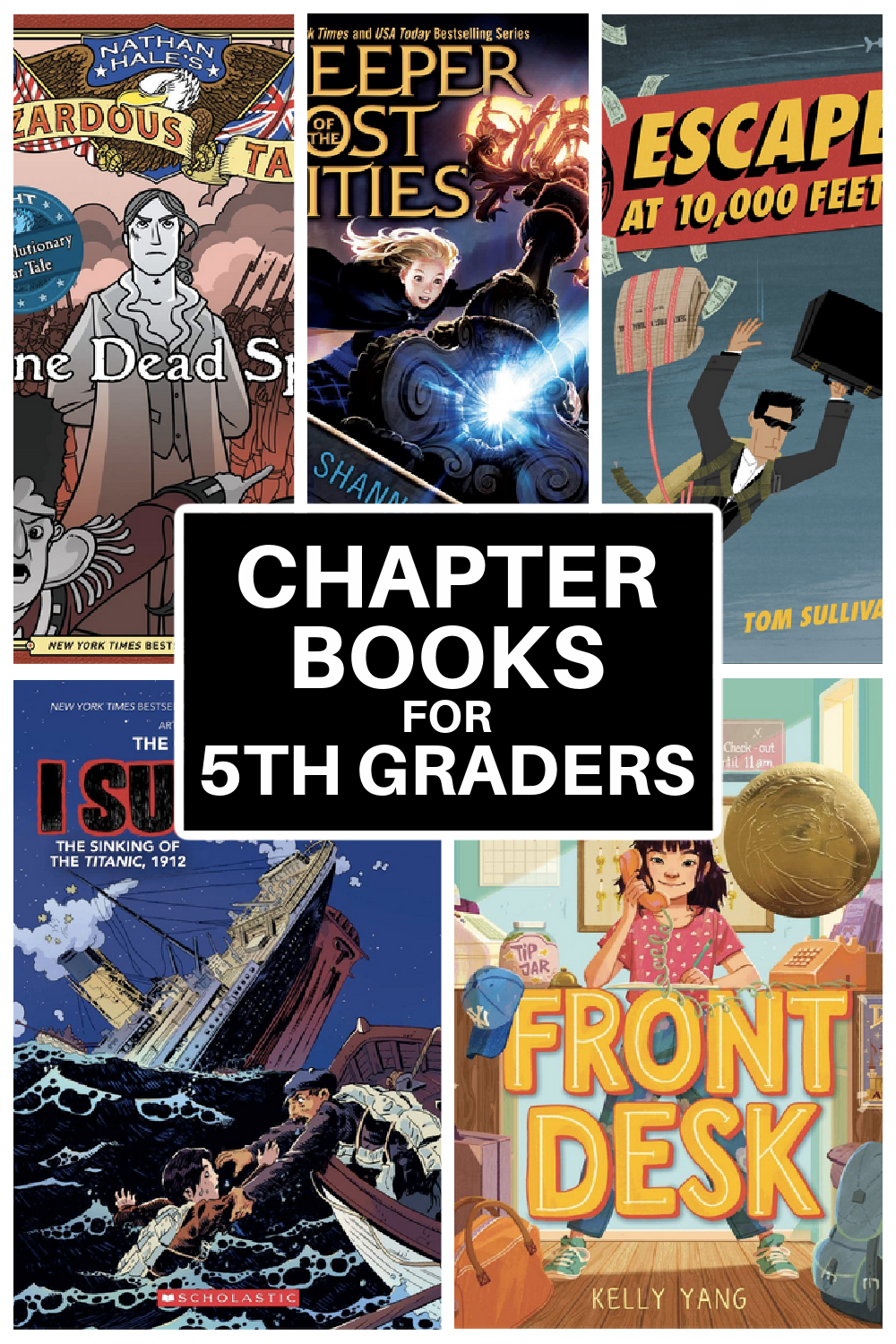 chapter books for fifth graders