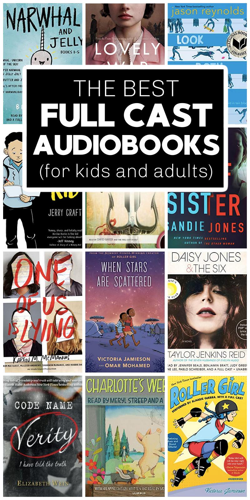 full cast audiobooks