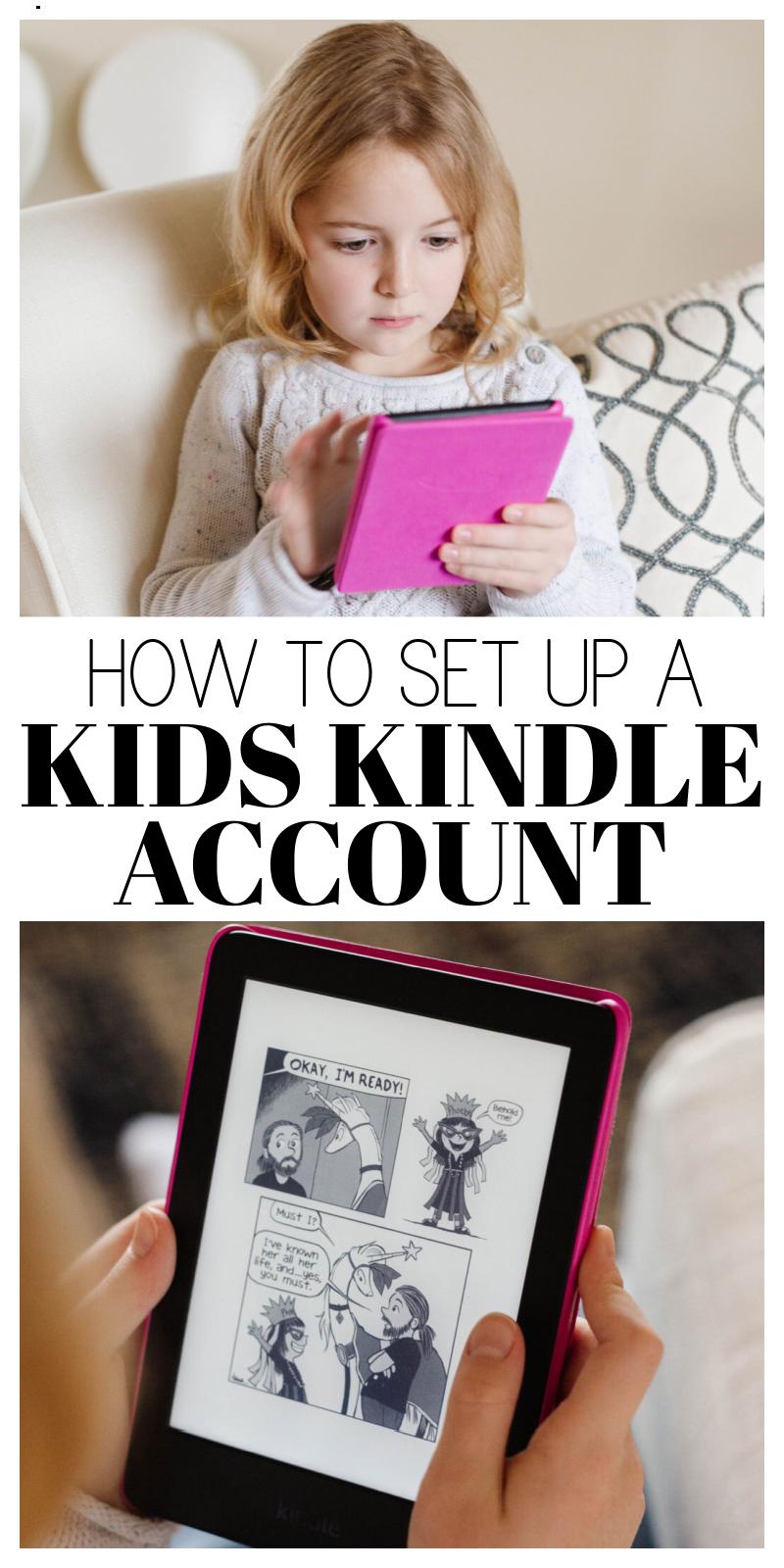 kids kindle account