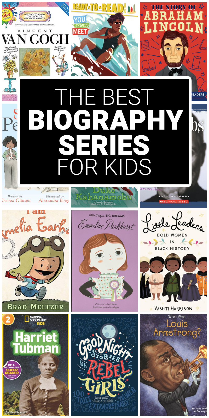 biography series for kids