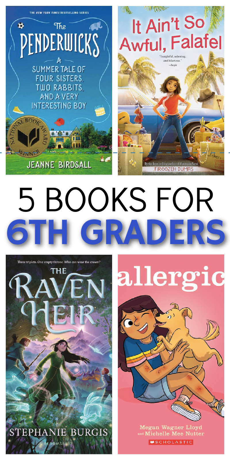 books for 6th graders