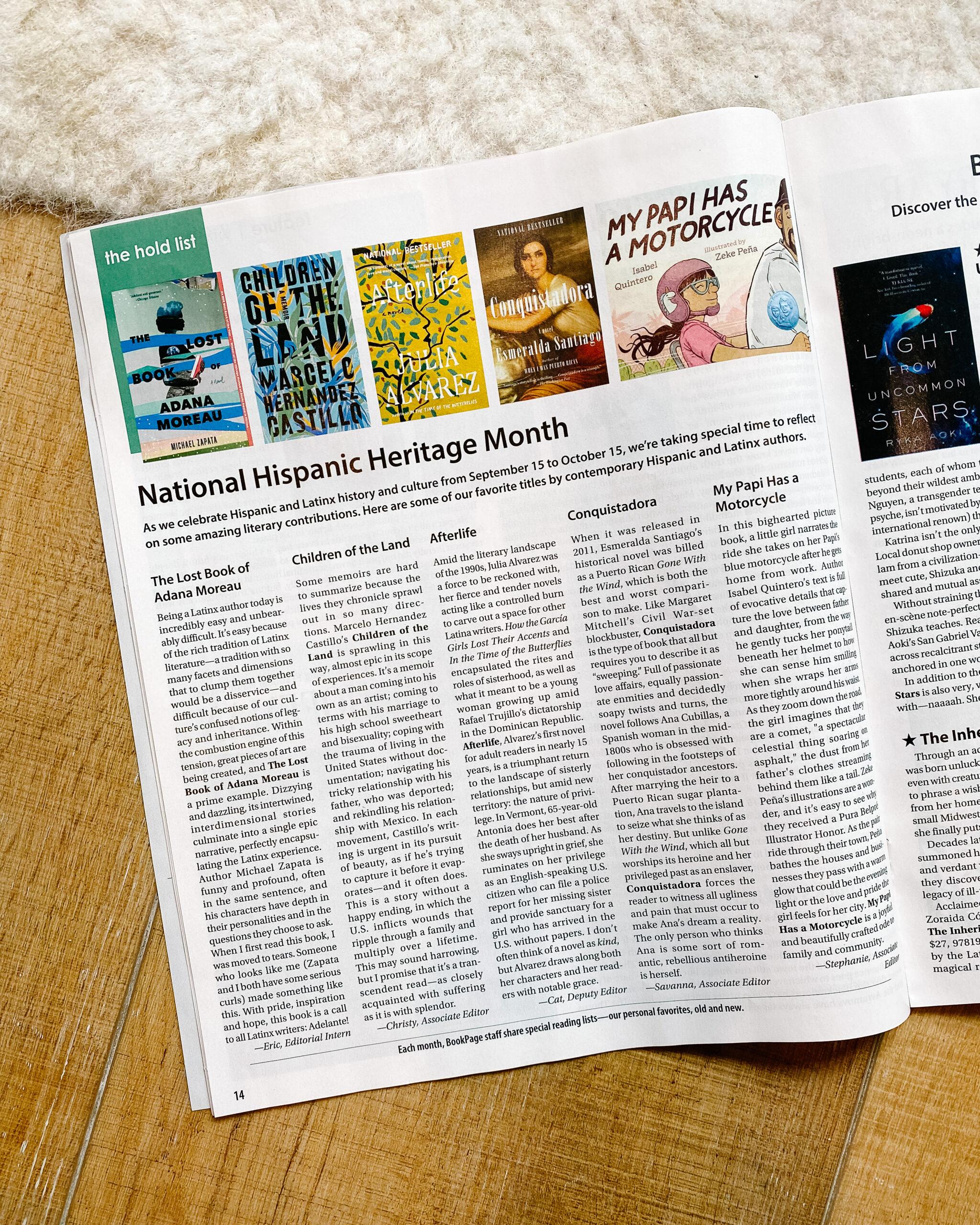 bookpage magazine